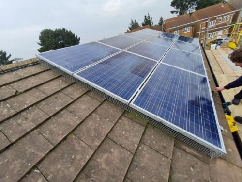 Solar Panel Pigeon Proofing Bournemouth